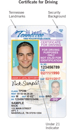 Tn Cards Department Homeland To Online New Clarksville And Licenses Safety Id Of Issue - Driver Security