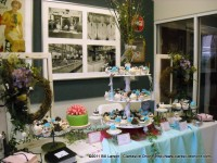 Sugar Lane CupCakery shows cup cake artistry.