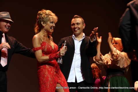 The 2011 Altrusa Dancing with the Stars winners are Sandra Ford and Chris Larsen