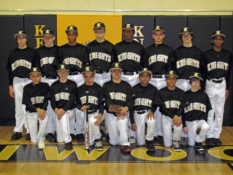 Kenwood Middle Varsity Baseball Team
