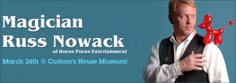 Magician Russ Nowack