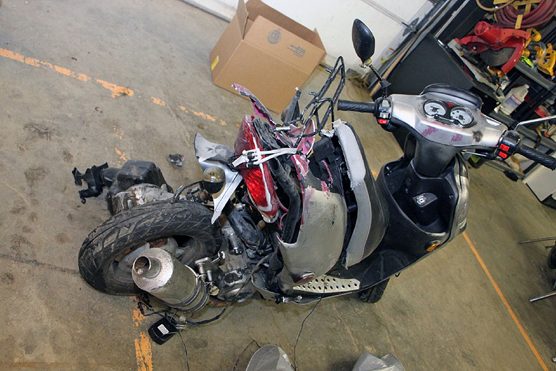 Man Charged With Vehicular Assault In Moped Hit And Run