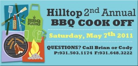 Hilltop Market's 2nd Annual BBQ Cookoff