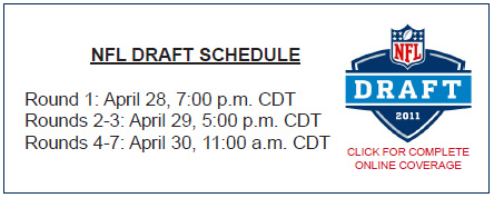 2011 NFL Draft Schedule