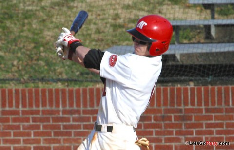 Second baseman Jon Clinard led the Govs with a 4-for-5, four RBI effort in Wednesday's loss to Belmont. (Austin Peay Sports Information)