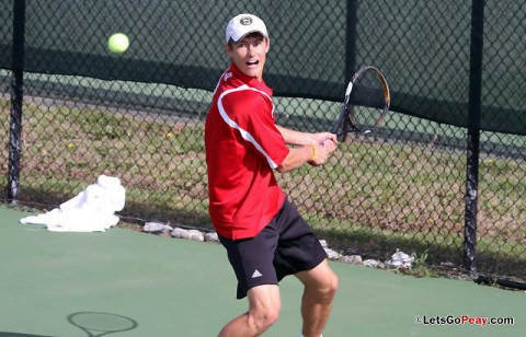 APSU Men's Tennis. (Austin Peay Sports Information)