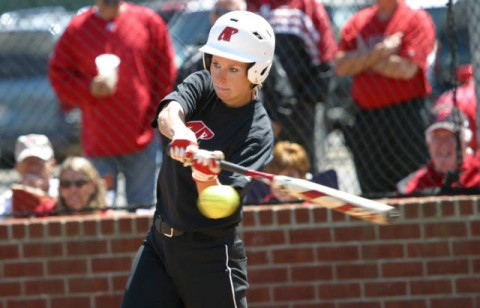 Junior Catie Cozart had four hits, including a home run, against Jacksonville State on Saturday. (Austin Peay Sports Information)