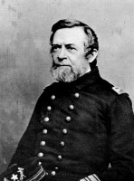 Admiral Andrew H. Foote, the Flag-Officer Commanding Naval Forces, Western Waters