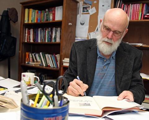 Barry Kitterman, an Austin Peay State University creative writing professor.