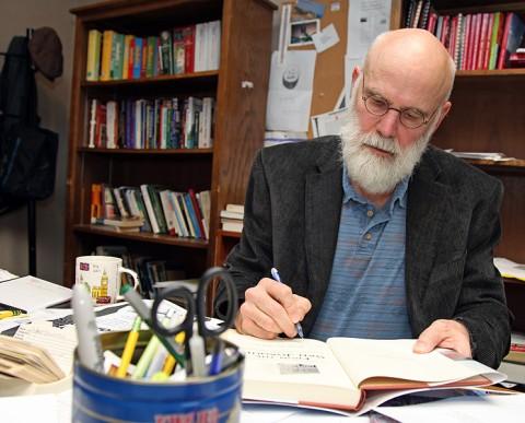 Barry Kitterman, an Austin Peay State University creative writing professor.