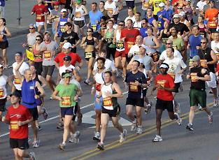 Country Music Marathon and half Marathon