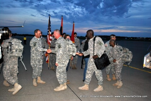 113 soldiers with the 1st Brigade Combat Team, 101st Airborne Division returned home in time for Easter Sunday.