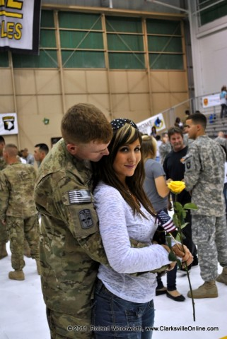 SPC  Nathan Beight and his wife Nicole