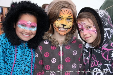These girls had a great time at the 2011 Rivers and Spires Festival