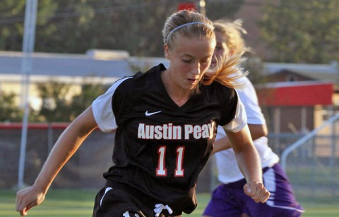 Samantha Northrup,APSU women's soccer team, was named to the National Soccer Coaches Association of America (NSCAA) Scholar All-Region third team.  (Austin Peay Sports Information)