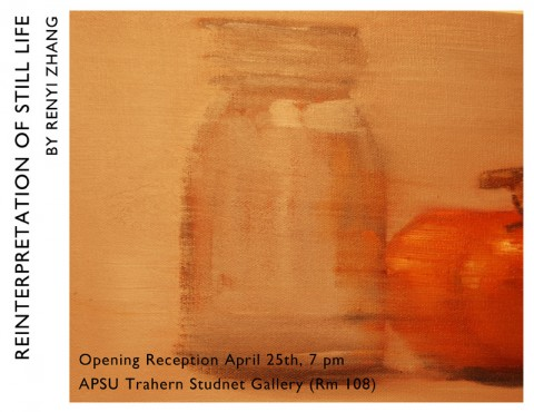 """Reinterpretations of Still-Life"" Exhibit"