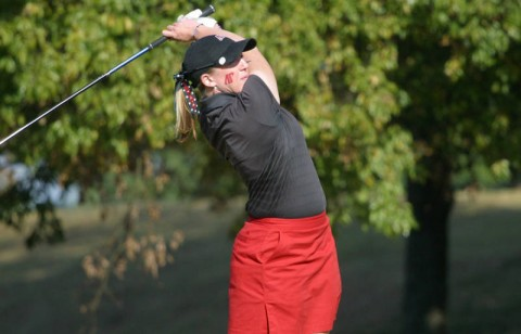 Junior Ashley Averitt shot a career-best 70 in the first round of EKU's tournament. (Austin Peay Sports Information)