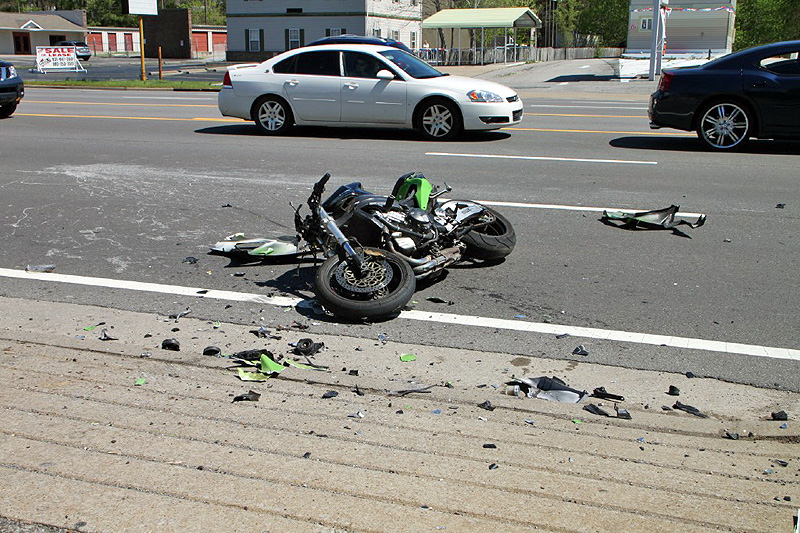 motorcycle crash on fort campbell blvd - clarksville, tn online