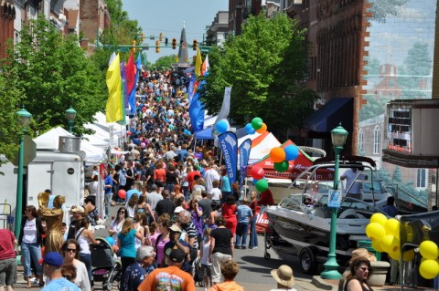Last year the Rivers & Spires festival saw a record breaking 42,000 people pass through the streets of Downtown Clarksville.
