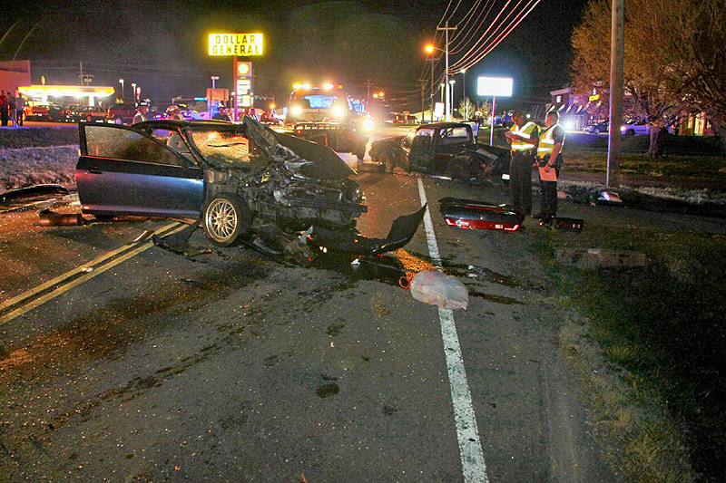 Four Car Crash on Trenton Road Sends Four to the Hospital ...