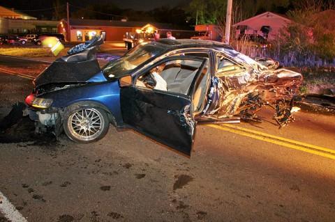Four Car Crash on Trenton Road, Clarksville TN.