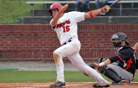Sophomore shortstop Reed Harper will put his 26-game hitting streak on the line in Tuesday's non-conference tilt at Lipscomb. (Austin Peay Sports Information)