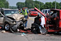 Tiny Town Road Wreck leaves One Dead, Another with Injuries