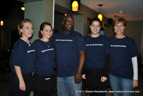Cindy Sueiro and the crew at G's Pancake House on Riverside Drive.