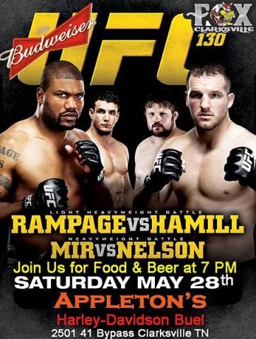 The Clarksville Fox and UFC Fight Night