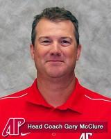 Head Coach Gary McClure