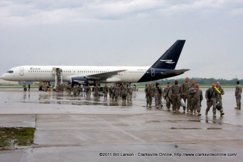 130 Soldiers from the 1st Brigade Combat Team returning home Monday morning