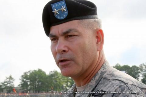 Maj. Gen. John F. Campbell