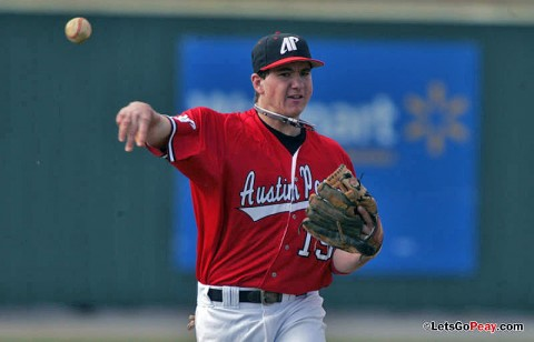 Shortstop Reed Harper was named to the 2011 Capital One Academic All-District IV Baseball Second Team. (Mateen Sidiq/Austin Peay)