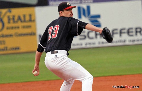 Starter Jack Snodgrass struck-out a career-high 11 batters in the Govs 4-1 victory against Jacksonville State, Friday night. (Austin Peay Sports Information)