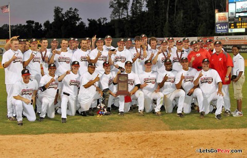 The 2011 OVC Baseball Champions, Austin Peay Governors. (Courtesy: Austin Peay Sports Information)