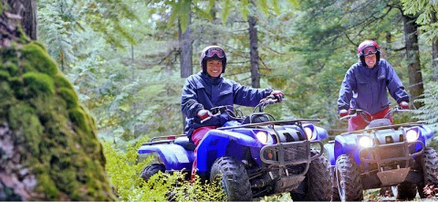 ATVs are not toys! They are powerful and potentially dangerous vehicles. Before you hit the trails, know your ATV, take a hands on safety training course and follow the guidelines from the Recreational Off-Highway Vehicle Association.