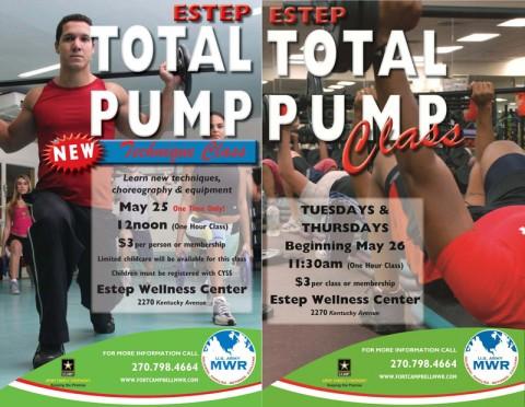 Total Pump Class at the Estep Wellness Center