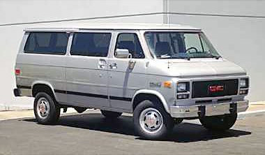 The Clarksville Police Department believe the vehicle to be a Blue 1994 GMC Vandura utility van similar to this picture. This is NOT the van but it may look similar in shape and body style.