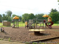 Playground equipment for the kids