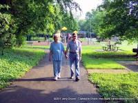 George and Jennie Craig enjoying Coy Lacy Park