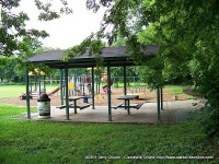 A sheltered pavilion is perfect for that summer outing