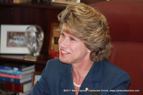 Clarksville Mayor Kim McMillan gives Thanksgiving Message to Clarksville.
