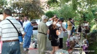 People browsing the wares at the 2011 Trash and Treasures Extravaganza in Cross Plains