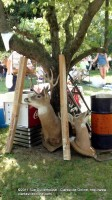 Some of the Eclectic items at this year's Trash and Treasure event in Cross Plains