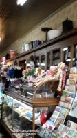 The decor of Thomas's Drug Store