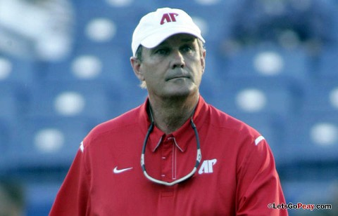 APSU Head Football Coach, Rick Christophel.(Courtesy: Austin Peay Sports Information)