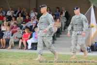 Col. Luong and Col. Lillibridge take the field