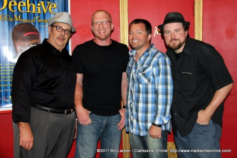 Hank Bonecutter with Brian Swinford, CJ Harlow, and Paul Strickland