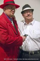 Big Daddy Cool, Johnny DeLarocca keeping Hank Bonecutter covered