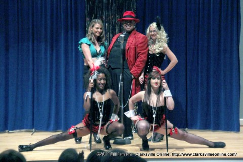 Big Daddy Cool, Johnny DeLarocca and the Swing Kittens performing at the Customs House